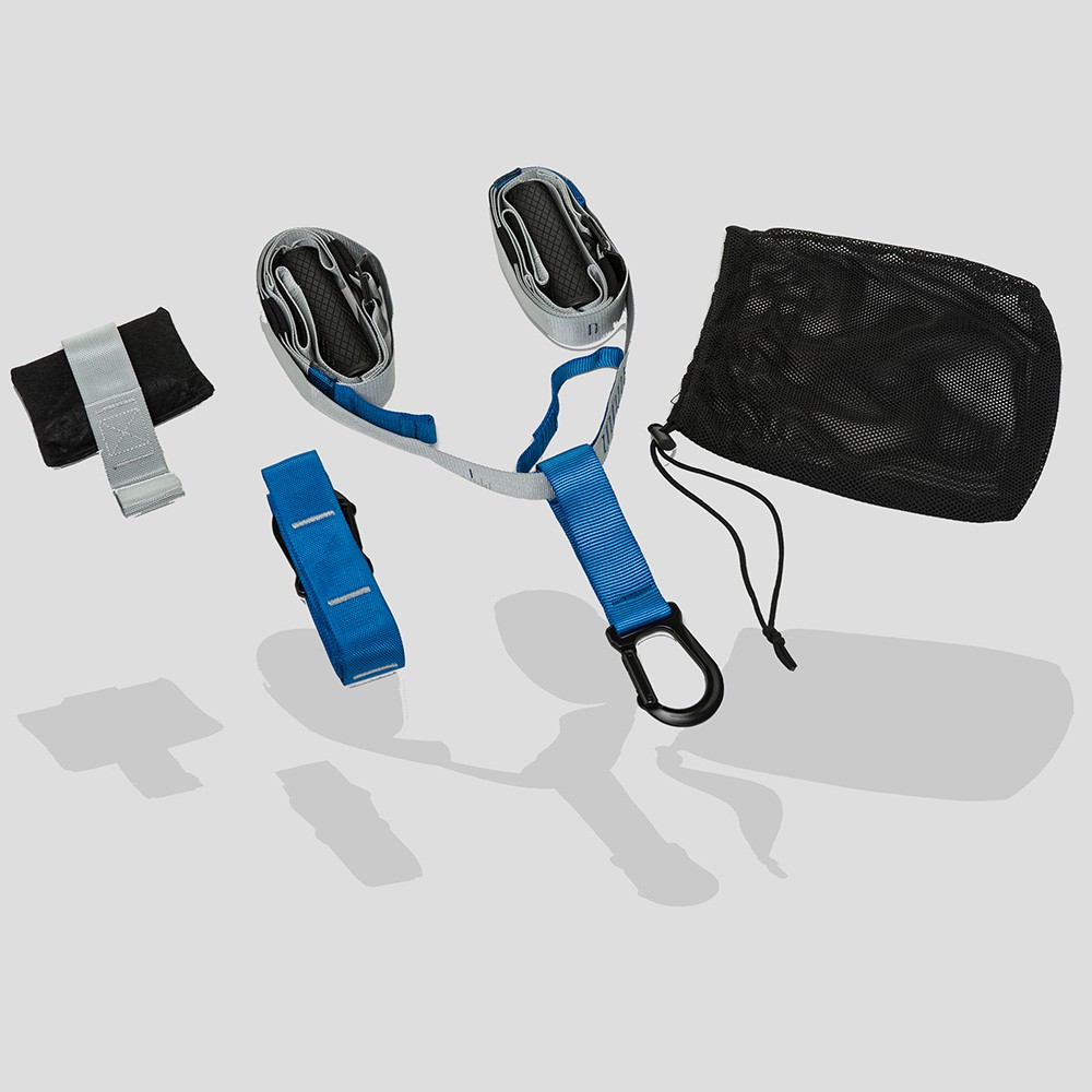 Kit de Entrenamiento en suspension.  (Azul/Gris)